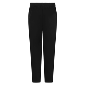 zeco girls school trousers black back view